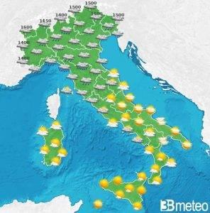 Previsioni Meteo del week end