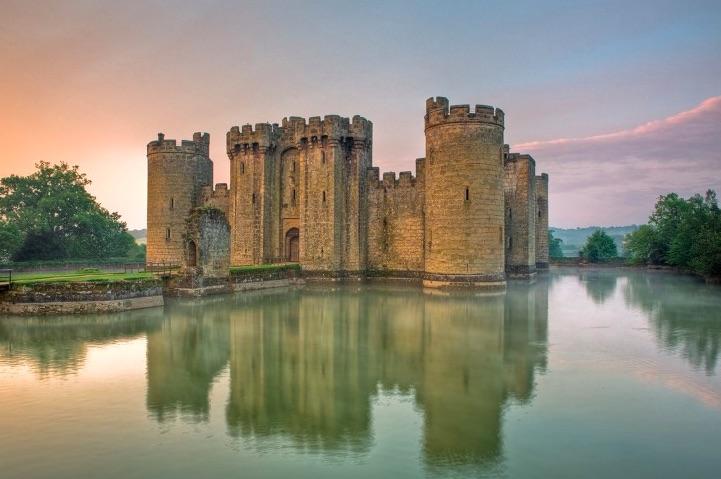 Castello di Bodiam – Regno Unito - meteoweek.com