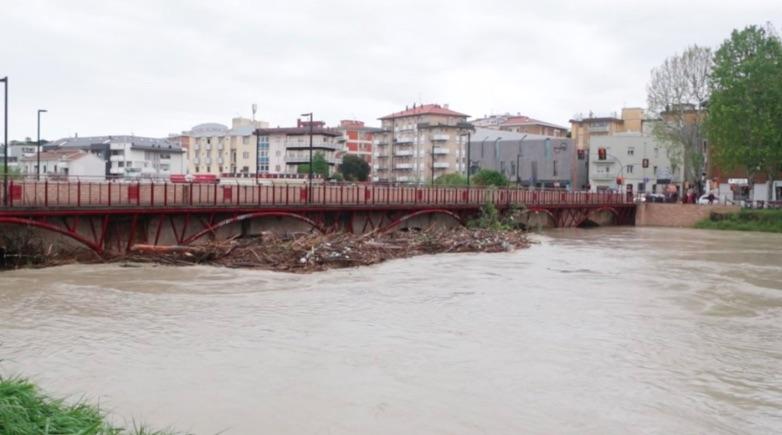 Esondato fiume Savio - Meteoweek.com