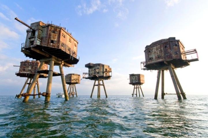 Fortezze marittime Maunsell – Regno Unito - meteoweek.com