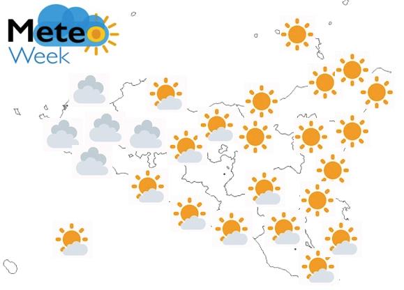 Meteo Sicilia Previsioni del tempo mercoledì 22 maggio 2019 - meteoweek.com