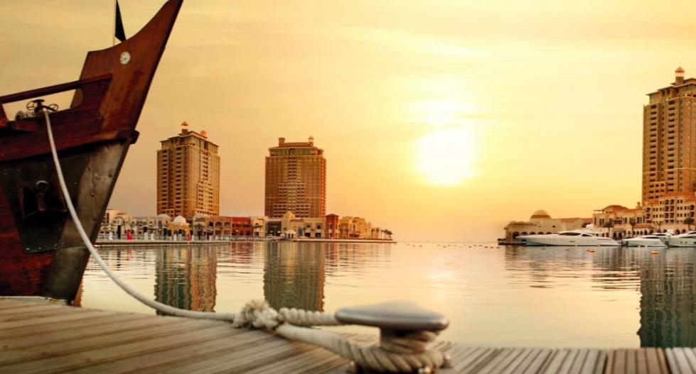 The Pearl- un'isola artificiale al largo di Doha - meteoweek.com