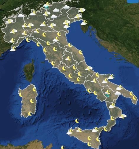 Meteo Italia previsioni del tempo domani mercoledì 19 giugno 2019 ore 18 - meteoweek.com