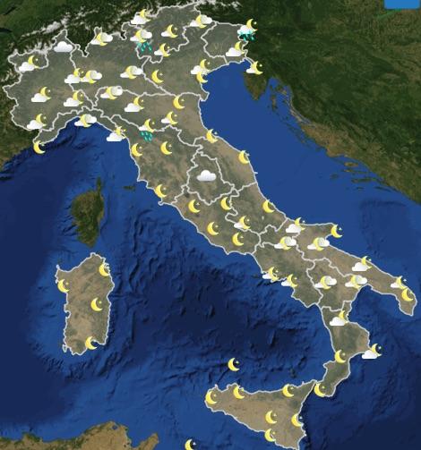 Meteo Italia previsioni del tempo oggi martedì 18 giugno 2019 ore 18 - meteoweek.com