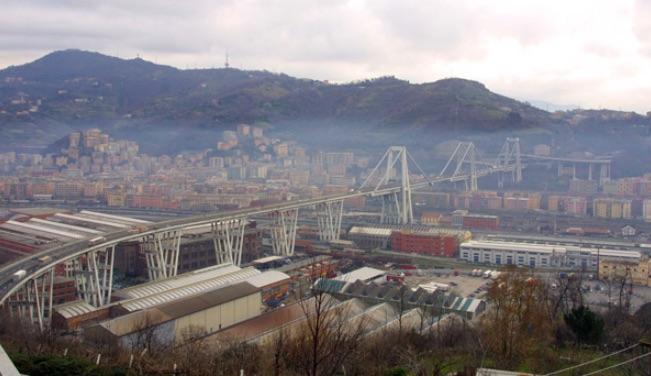 Viadotto Polcevera Ponte Morandi com'era prima del disastro - meteoweek.com