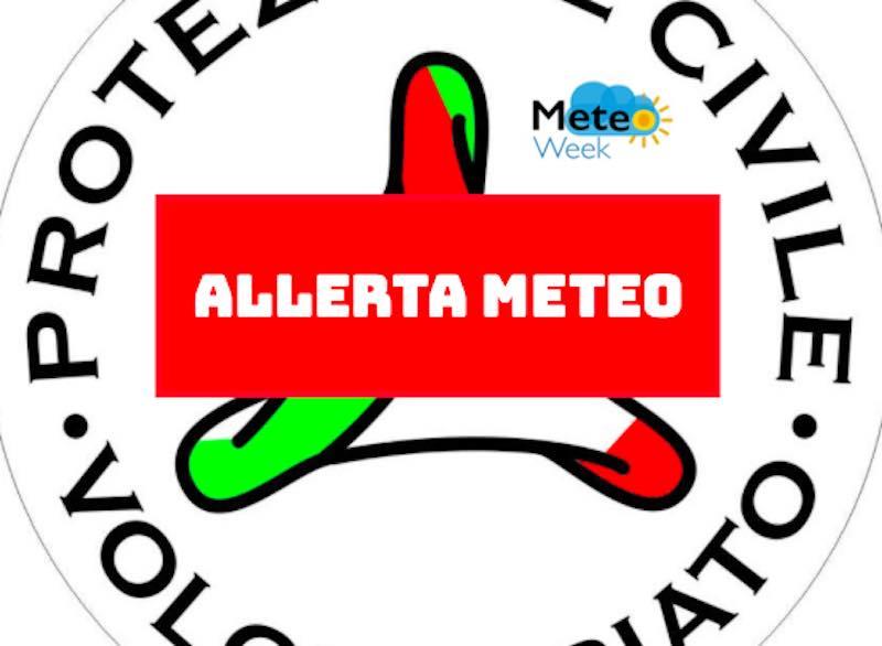 Allerta Arancione maltempo- piogge e temporali sulle regioni del Nord-Ovest e del Centro Italia - meteoweek.com