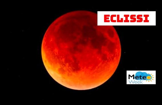 Esclissi lunare - meteoweek.com