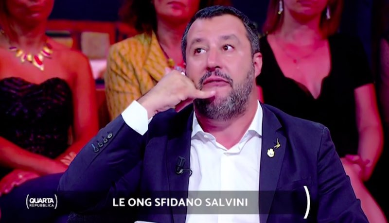 Matteo Salvini- magistrati hanno carte in mano che inchiodano le Ong con i trafficanti - meteoweek.com