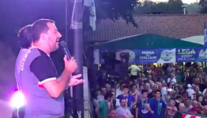 Governo, Spadafora regala un botta e risposta con Salvini