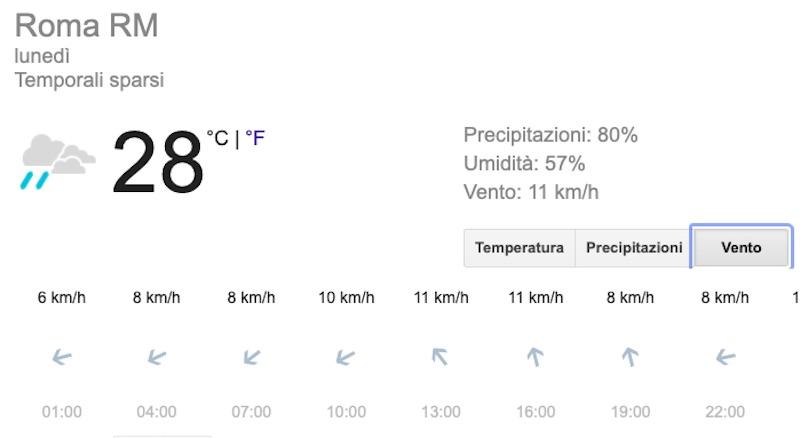 Meteo Roma domani previsioni del tempo di lunedì 15 luglio - meteoweek.com
