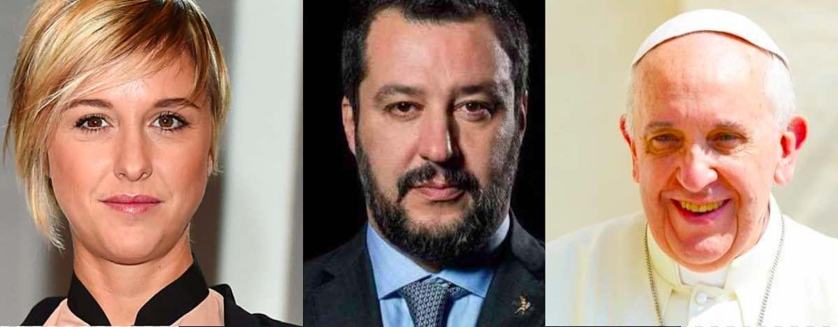 Nadia Toffa - Matteo Salvini - Papa Francesco - meteoweek.com