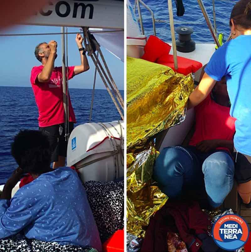 Ong Mediterranea nelel acque internazionali - meteoweek.com