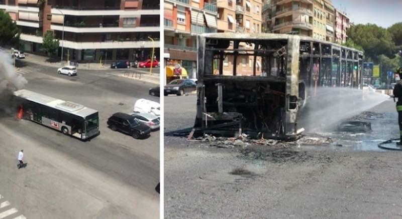 Panico tra i passeggeri linea bus 671 esploso a Roma zona Appia - meteoweek.com