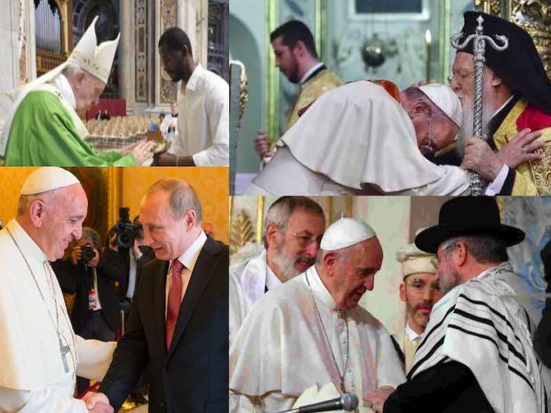 Papa Francesco leader tra il mondo cattolico - meteoweek.com