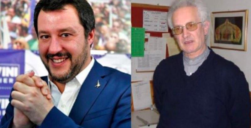Videomessaggio di Don Giorgio- Salvini porco e Capitano della Mafia - meteoweek.com