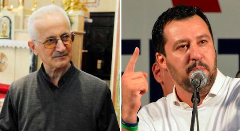 Videomessaggio di Don Giorgio Salvini porco e Capitano della Mafia - meteoweek.com