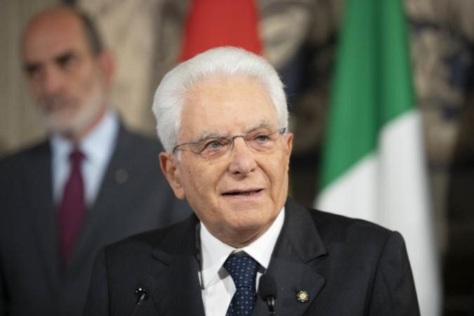 Il presidente Mattarella dopo le consultazioni