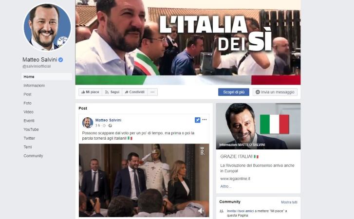 Matteo Salvini | crisi di governo: la resa dei conti. I follower contro il politico -meteoweek.com