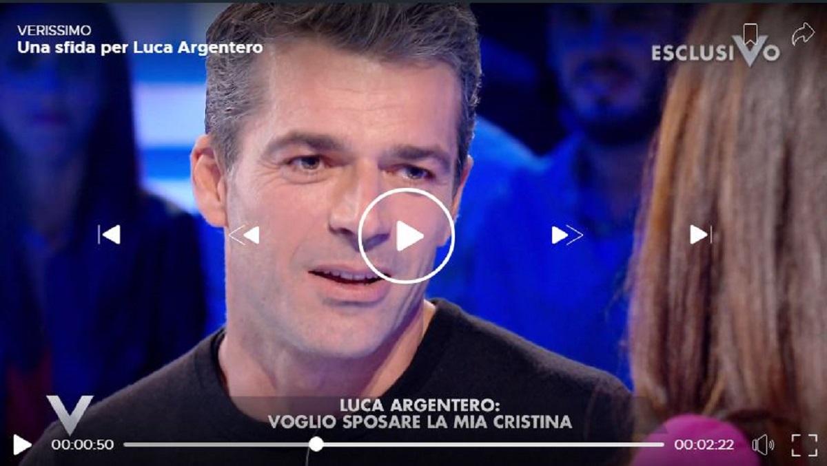 Luca Argentero si sposa: voglio un figlio | Chi è Cristina Marino - meteoweek.com
