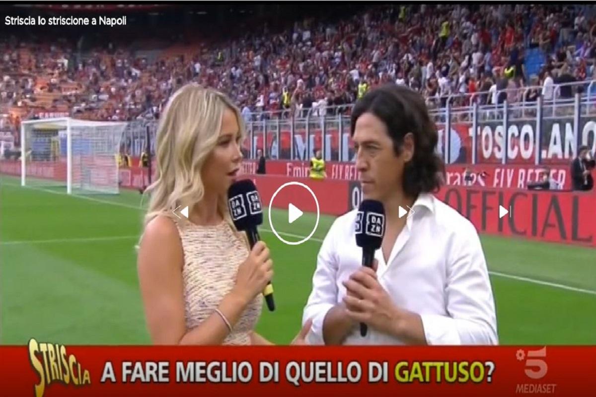 Diletta Leotta   Gaffe derby Milan –Inter   tutta colpa di Gattuso   Video - meteoweek.com