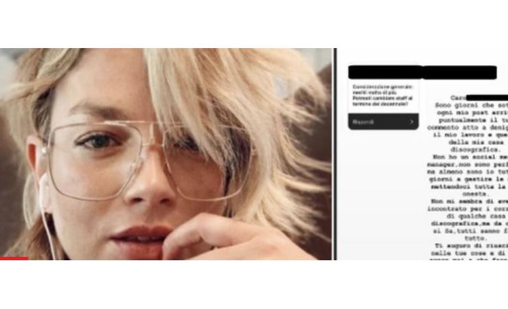 Emma esplode contro un follower che la perseguita. Ecco la sua risposta - meteoweek.com
