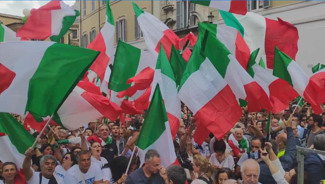 manifestazione roma record