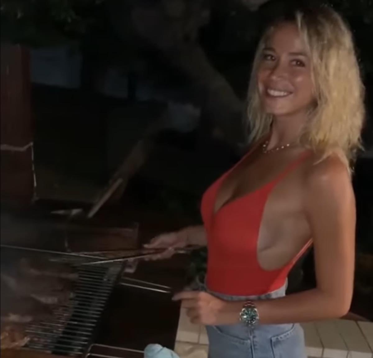 Diletta Leotta padella brace