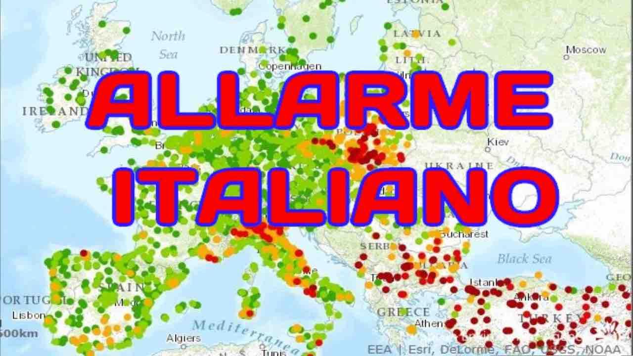 Allarme smog, Italia prima in Europa per morti da biossido di azoto