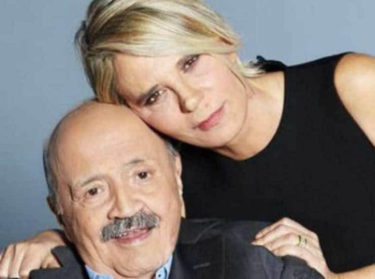 Maurizio Costanzo con la moglie chi e - meteoweek