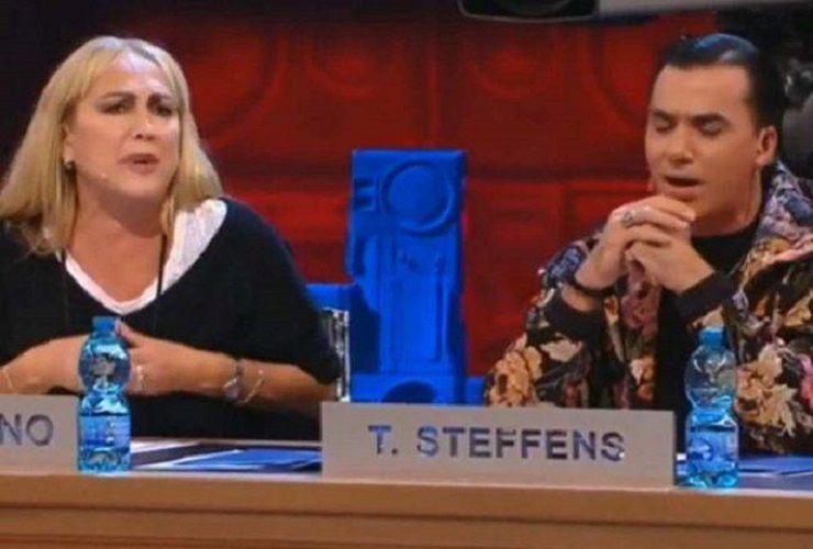 Alessandra Celentano e Timor Steffens