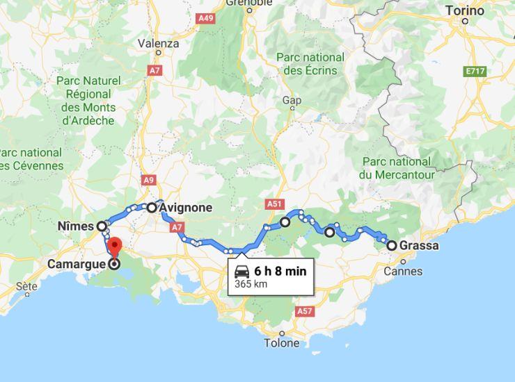 Provenza e Francia del sud: itinerario on the road