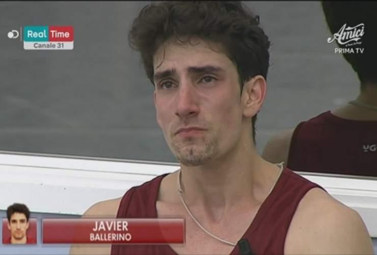 Javier crollo di nervi ad Amici 19 - meteoweek