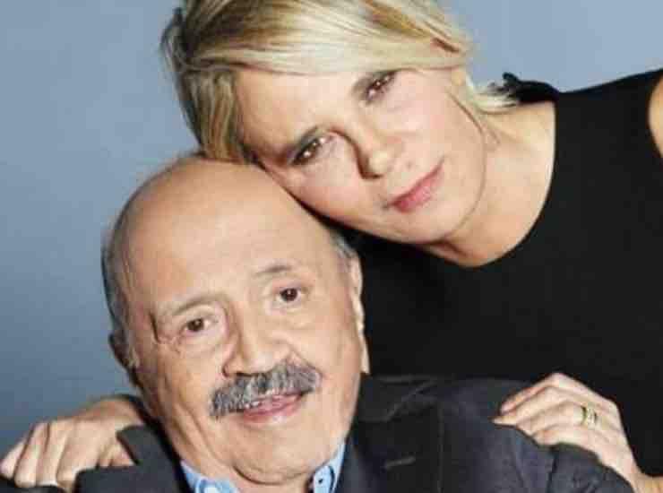 Maria De Filippi con il marito chi è - meteoweek