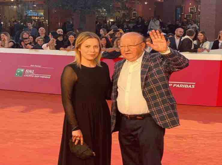 Massimo Boldi con la fidanzata chi e - meteoweek