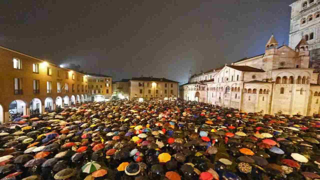 Modena, le Sardine: al via sabato una manifestazione anti-Salvini - meteoweek