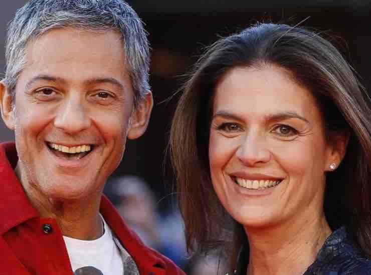Rosario Fiorello con la moglie chi è - meteoweek