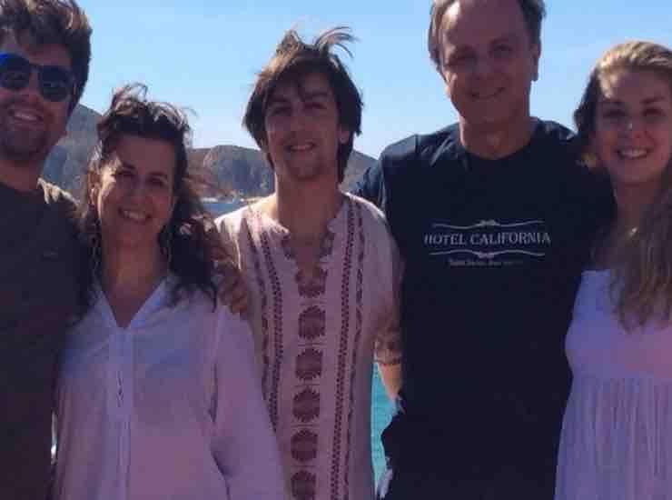 Titty D'Attoma con la sua famiglia chi è - meteoweek
