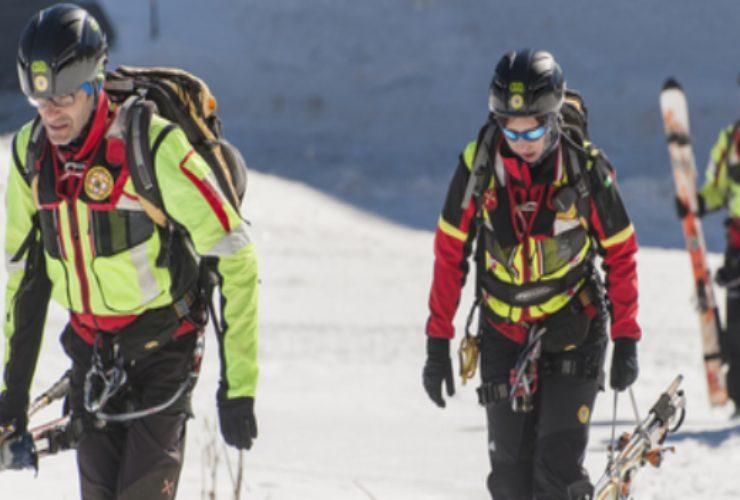 scialpinista disperso valle d'aosta