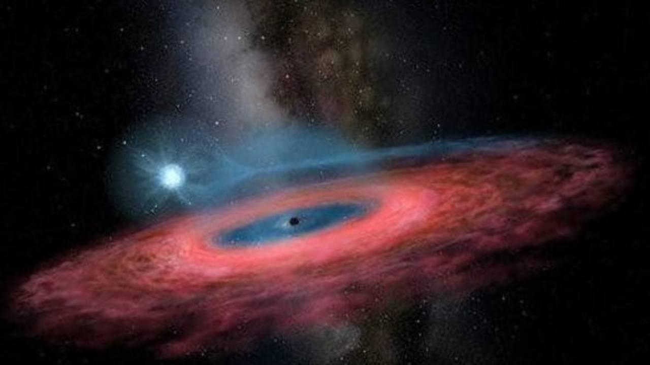 buco nero via lattea