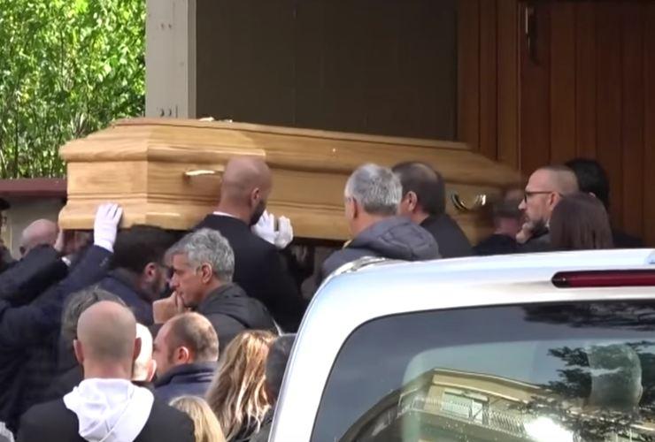 luca sacchi funerale