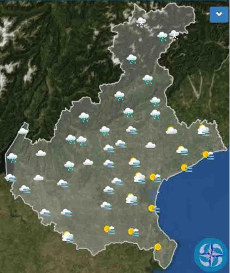 Meteo Verona domani lunedì 18 novembre: nubi in aumento