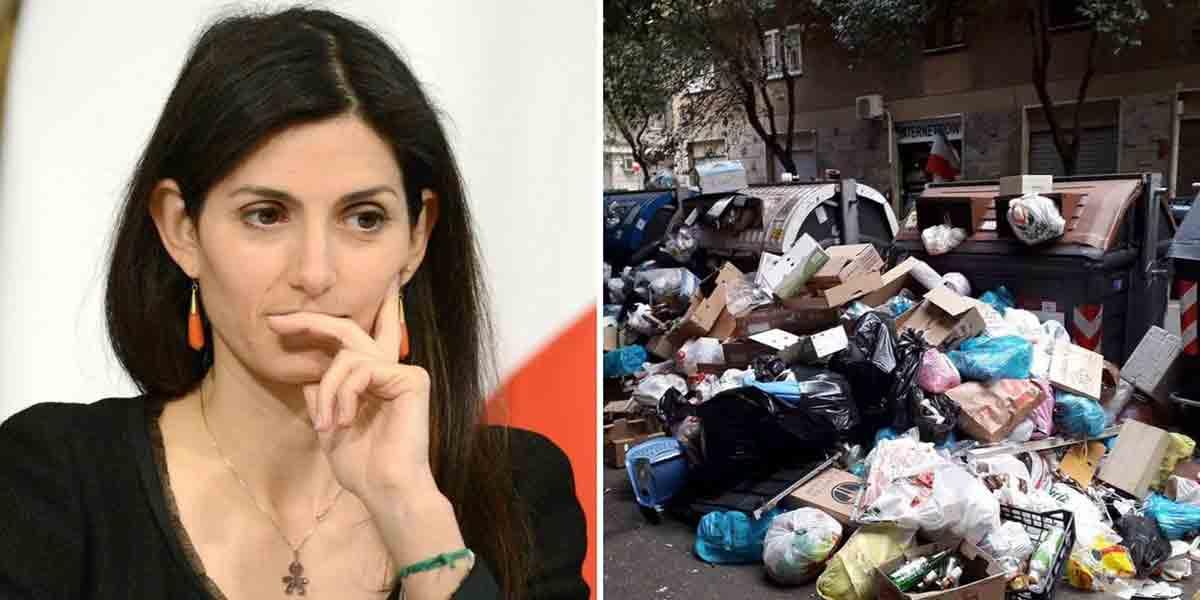 Allerta Roma situazione rifiuti