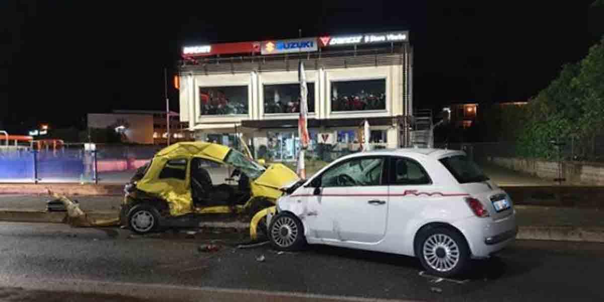 Incidente stradale morto