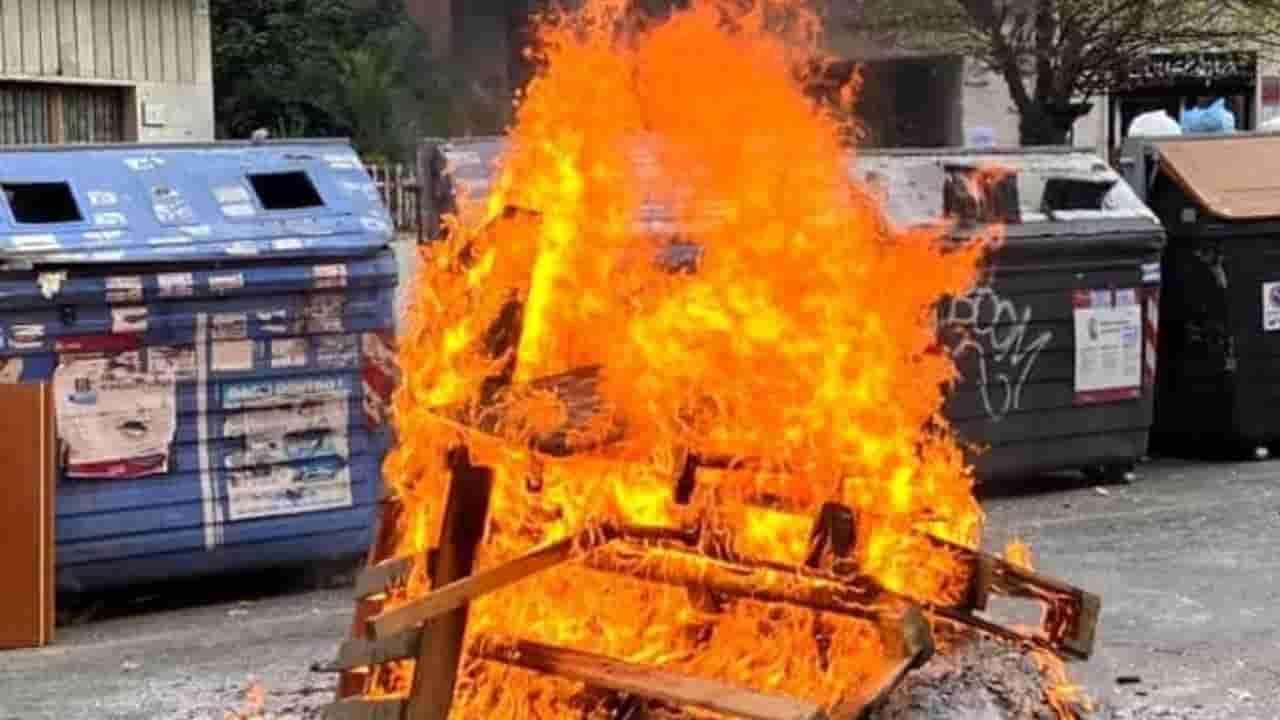 Casal Bruciato cassonetti