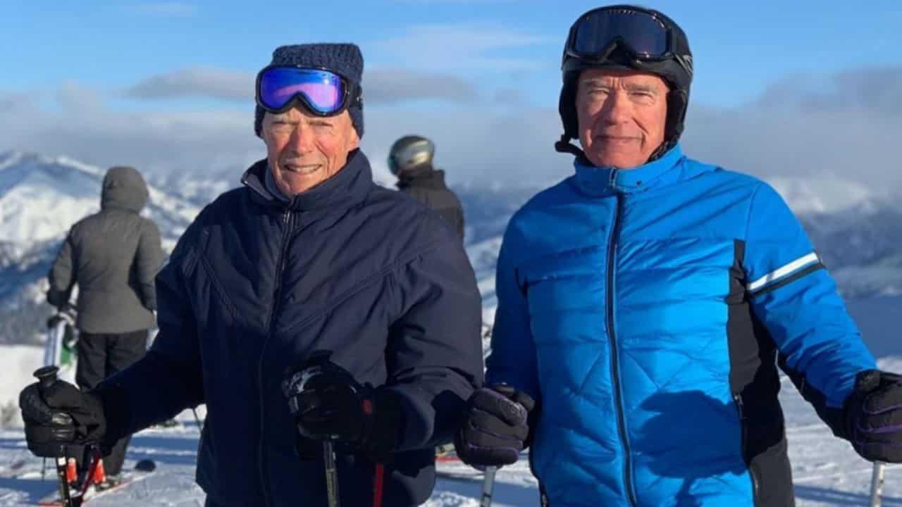 Clint Eastwood e Arnold Schwarzenegger