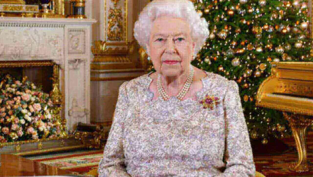 Regina Elisabetta a Natale