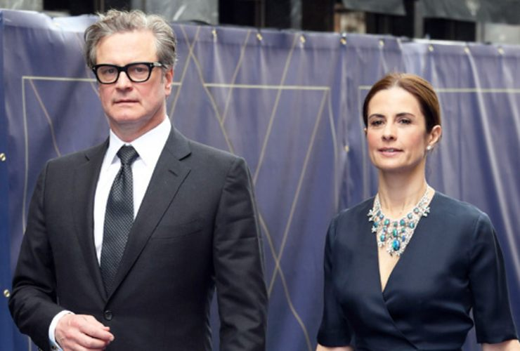 Colin Firth e la moglie italiana - meteoweek