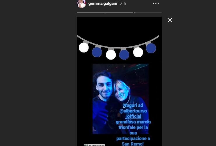 Gemma Galgani ha uno spasimante famoso