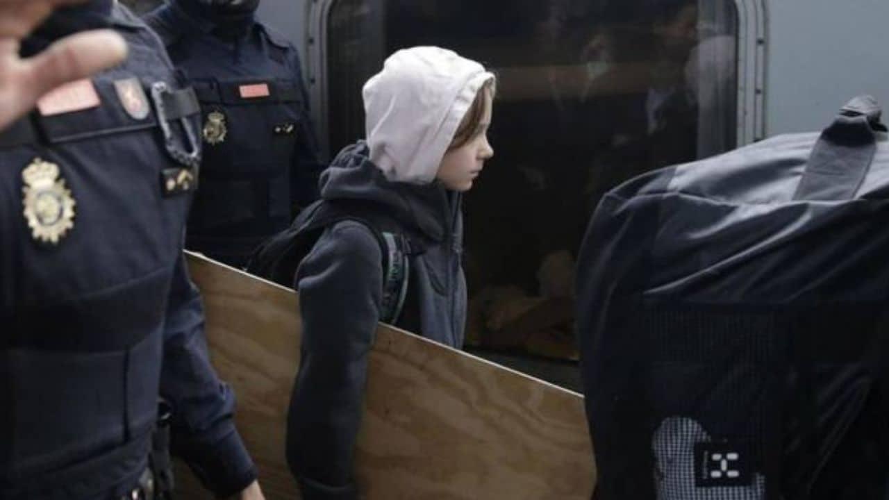 Greta Thunberg - Trenhotel Lusitania