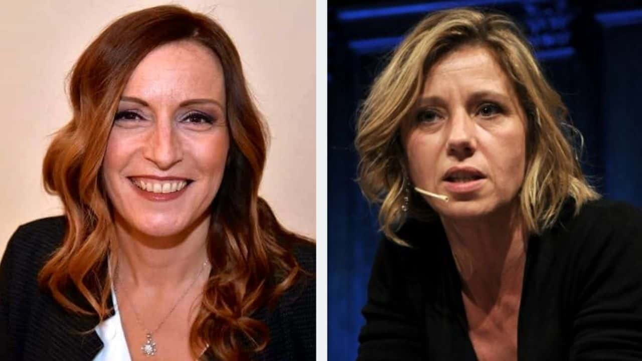 Lucia Borgonzoni contro Concita De Gregorio